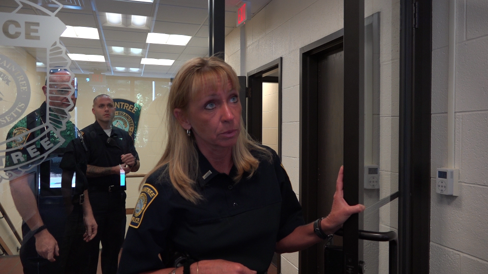 Lieutenant Karen MacAleese falsely told us it was illegal to record her voice without consent.