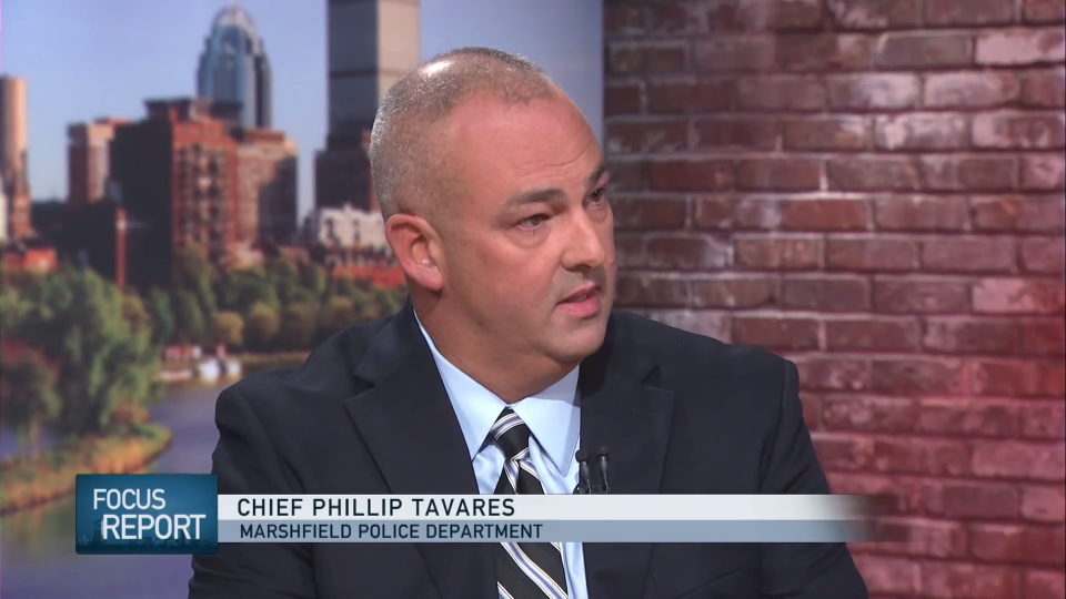 Marshfield Police Chief Phillip Tavares (Credit: WGBH)