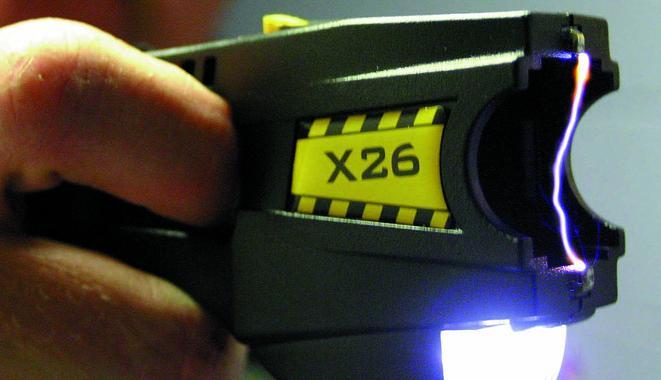 A Taser brand stun gun. (Credit: WikiMedia Commons)