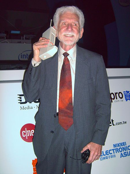The original cellphone. (Credit: Wikipedia)