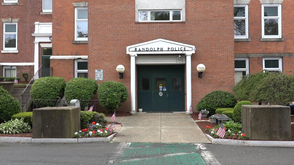 Randolph police department front