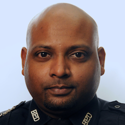 Boston police officer Adarbaad Karani