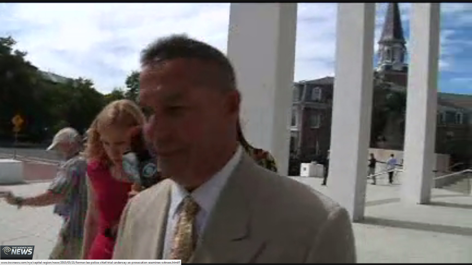 Former Lee police chief Joseph Buffis (Credit: Time Warner Cable News)