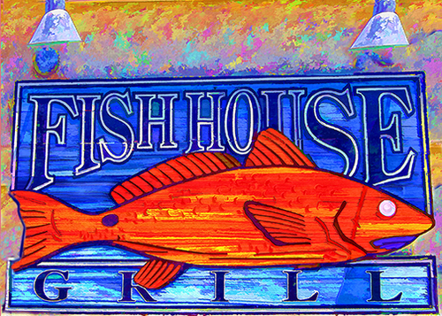 fish house sign2 copy 4.jpg - Wrightsville Beach €� MIKE BRYAND PHOTO ART