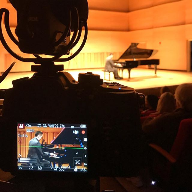 It's always a pleasure to film the amazing pianist @philipedwardfisher. 🎹🎼 • • • #music #piano #musicvideo #classicalmusic #musician #musicians #musiciansofinstagram #pianist #concert #videography #videographer #longislandvideo #longislandvideoproduction #longislandvideographer #longislandvideography #longislandvideocompany #longislandvideoservices #filmmaking #ny #longisland #cinematography #fazioli #faziolipiano #adelphi #adelphiuniversity #fun #follow #instagood #photooftheday #panasoniclumix