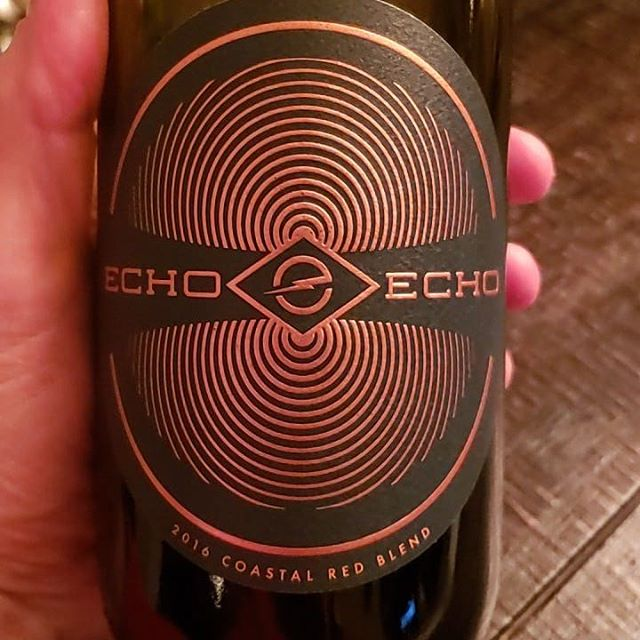 "When we heard about Echo Echo Wines including a curated Spotify playlist with each bottle of wine they sell, we were intrigued. The experience of turning off the noise of the day, and taking time to enjoy the artistry of a wine, while discovering new music at the same time is a brilliant marketing plan, but also fraught with danger if the music or the wine fails to impress. So....does Echo Echo succeed? Yes. Their Coastal Red Blend is a very solid and interesting Rhone blend of Syrah and Grenache which is aged mostly in stainless steel. The result is a crisp, vibrant red boasting cherry and floral aromas, with tart plum and blackberry flavors, and a lingering peppery finish.  And the music ""paired"" with this wine worked too! From the smooth EDM of Cautious Clay to the earthy roots rock of Anna Burch, the effect of the music on the wine was interesting. I would never have heard any of the four artists included with the bottle we received, but I added several of the 12 songs included to personal playlists of my own. And the $20 price point is right in the middle of comparable California blends which don't include the playlist. Recommended!  #EchoEcho #Spotify #RhoneBlend #WineReview"