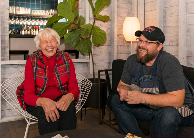 Heavy Table: A Conversation with Beatrice Ojakangas and Chef Erick Harcey