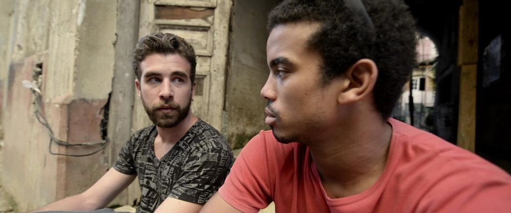 """ Do I look like a computer?""  says Marlon Pijuán as the underground Internet provider."