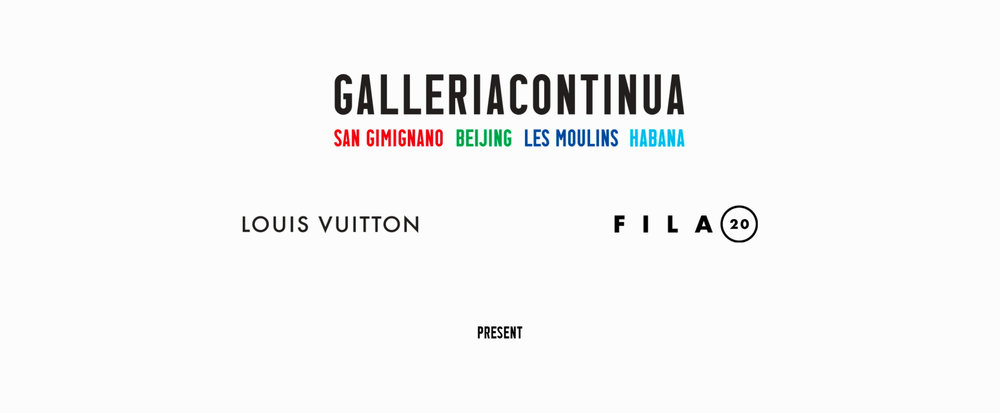 Client  Galleria Continua - Louis Vuitton  commissioned several projects to fila20 filmes. You can also take a look at our documentary   Galleria Continua at the 12th Havana Biennial  .