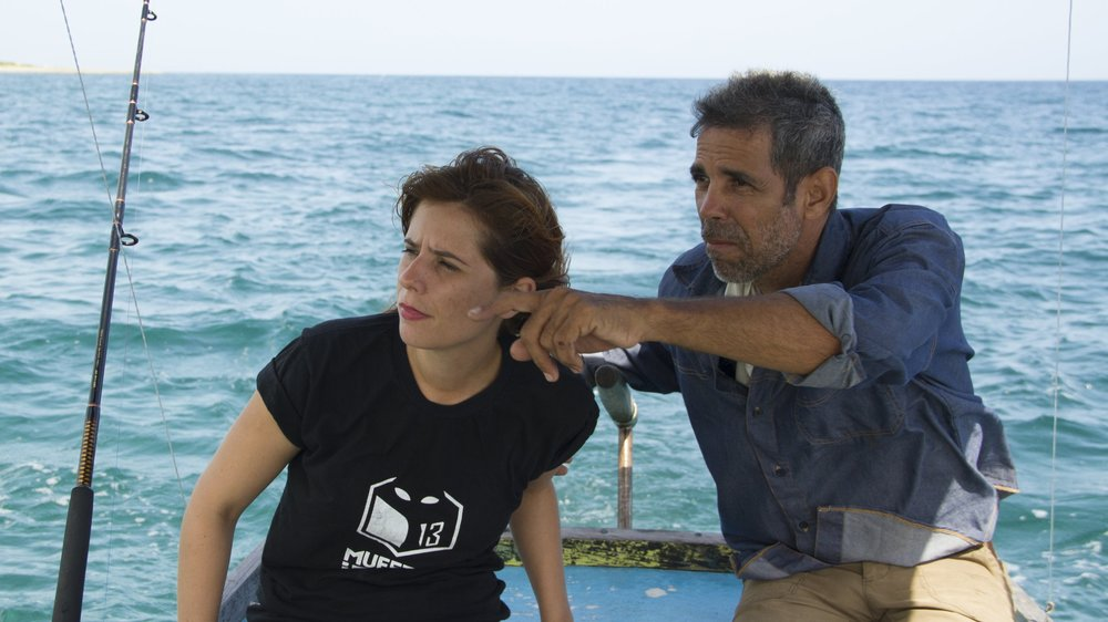 Ana worked for months with Carlos Vigón, the real-life fisherman who plays the title role. His character was constantly reshaped and even renamed after him.