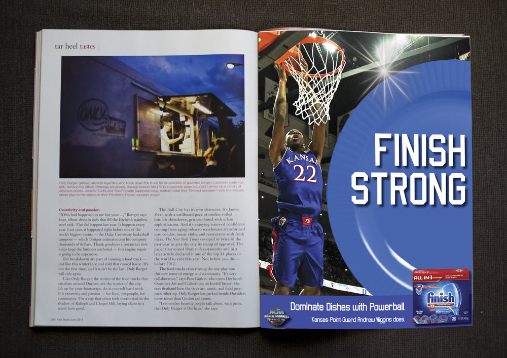 Finish Strong Ad