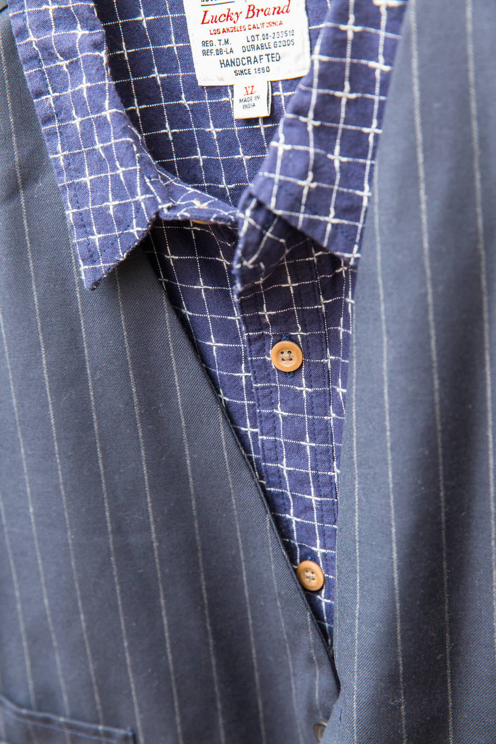 Indigo never goes out of style with menswear!