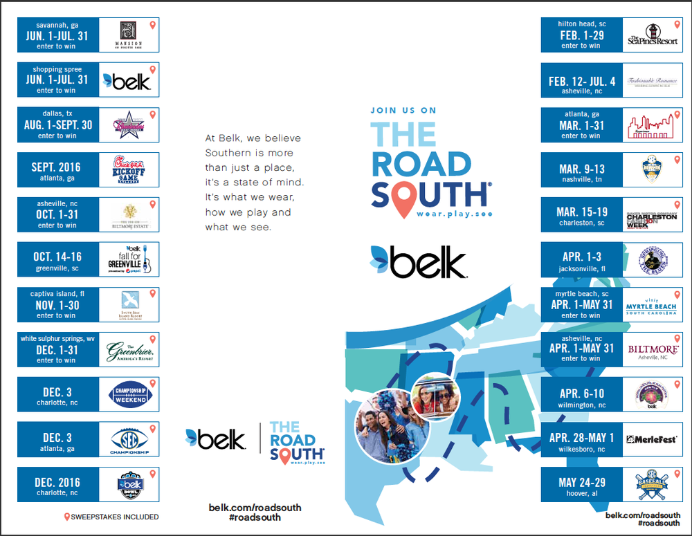 The Road South 2016