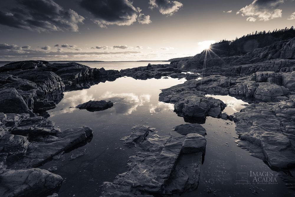 Sunset at Hunters Head