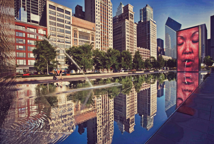 """""""Image found in google""""    There are so many things to see and play with around the huge Millennium park."""