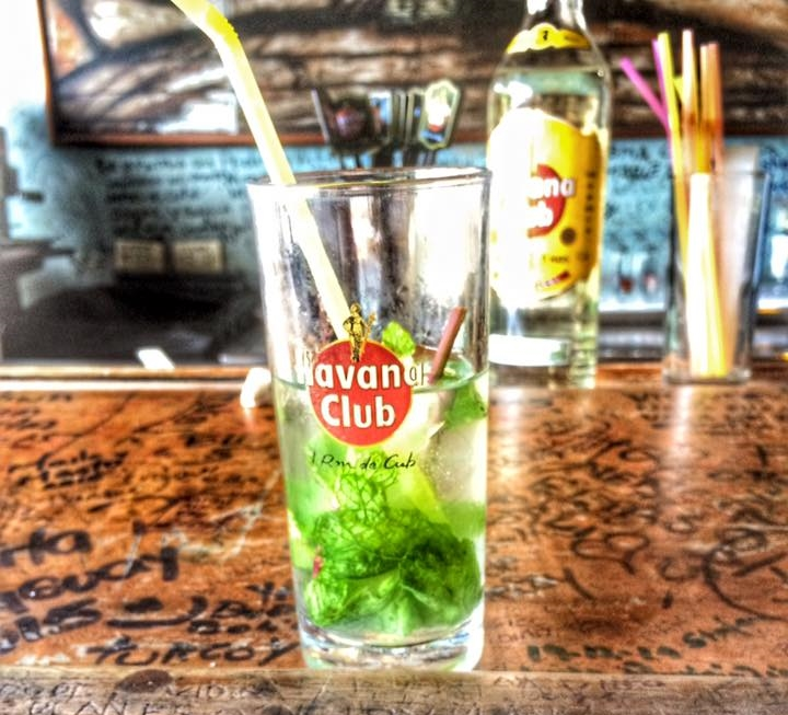 It was so hot in July that I ended up   drinking mojitos at any time of the day. They are so good!
