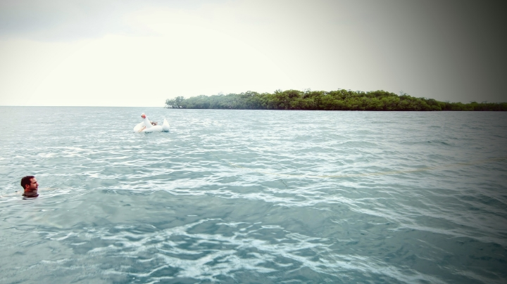 We went snorkeling, relaxed in our floaties and prayed for the sun to come out :)