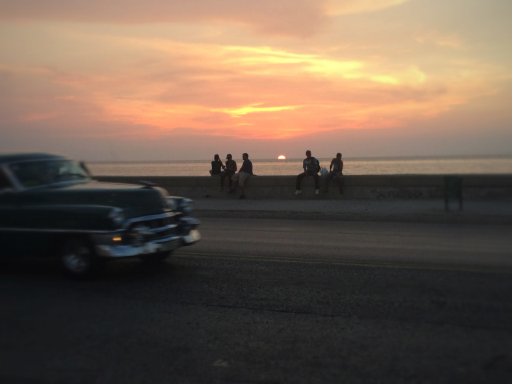 "No matter at what time you go, there would be always people at ""El Malecon"". It is a great place for people watching :) You have 80% probability to end up talking with a cuban here."
