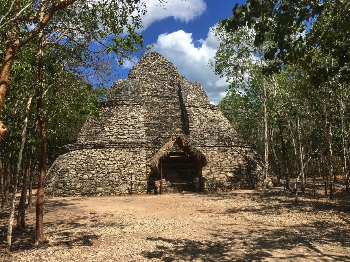 The experience is totally different than Chiché  n Itzá because these are in the jungle. It is totally worthy to rent a bike, or have a ride. This archeological area is located between two lakes. We visited Punta Laguna, talked with real mayan people and saw monkeys.
