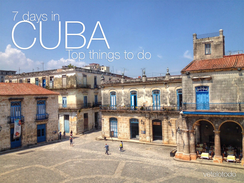 Why Cuba? Travel back in time.