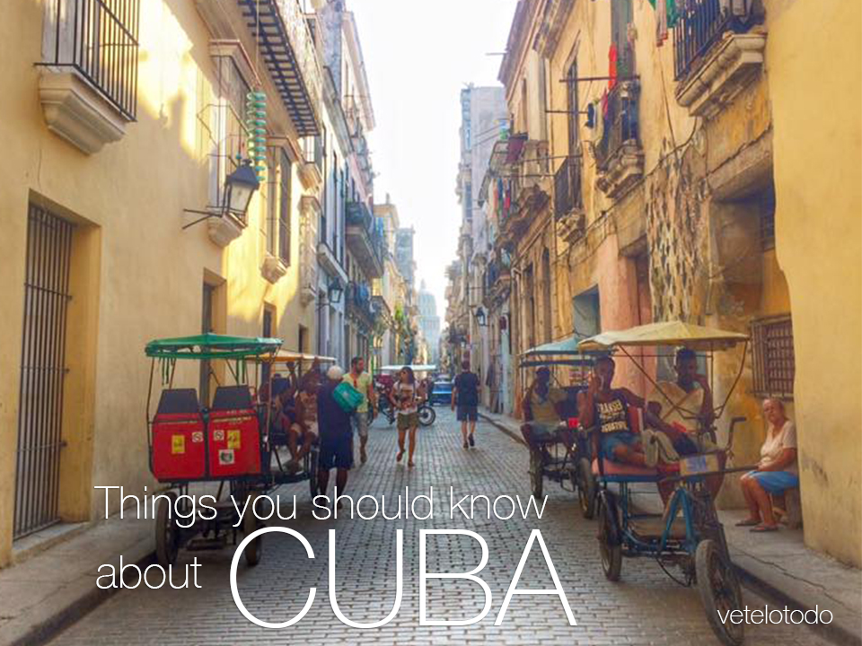 Things you should know before visiting Cuba