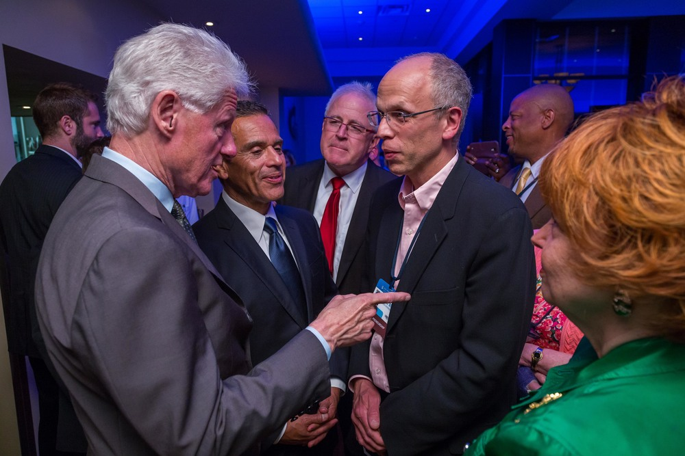 VeraCloud Board President Todd Bida discusses diversity and inclusion at CGI America 2015 with former President Clinton and former Mayor of Los Angeles Antonio Villaraigosa.