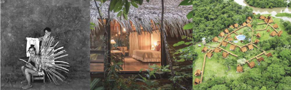 Interior design and the guest experience was adapted to emphasize modern indigenous culture, in addition to the current focus on wildlife and conservation tourism.