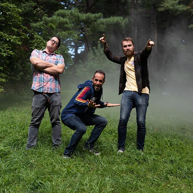 Backstreet's Back ALRIGHT!  #boyband  #backstreet #patsjustourbodyguard #bandphotos #justkidding #fog