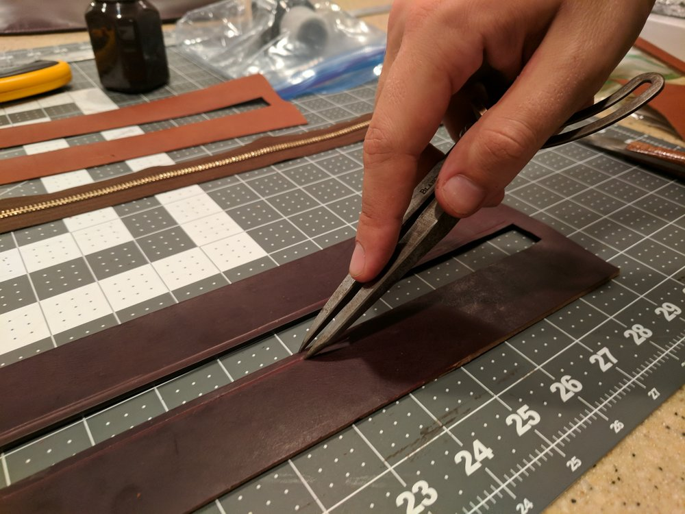 Creating stitching lines