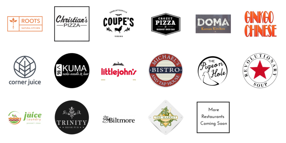 UVA Restaurants