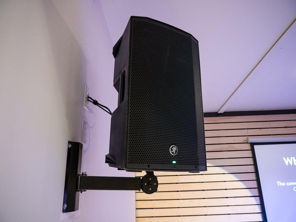 Mackie Thump powered loudspeakers