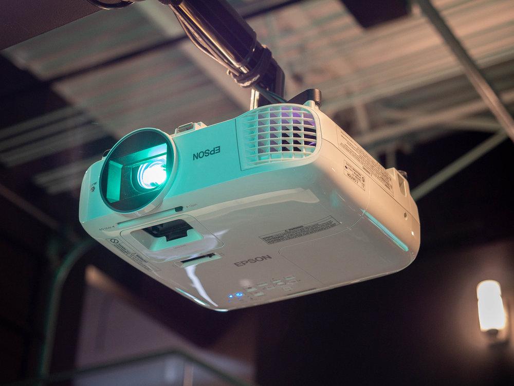 Epson HD LCD projectors