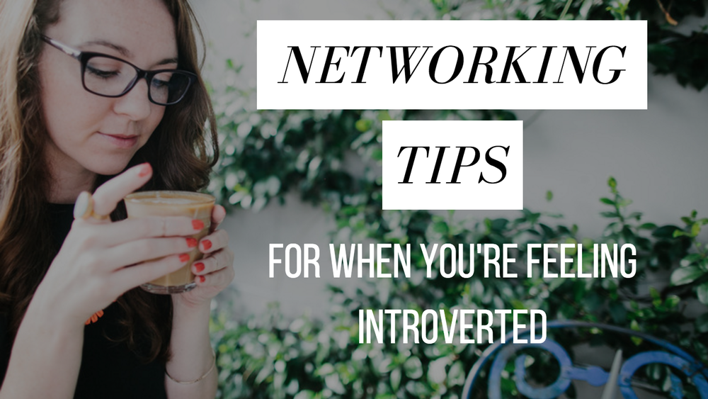 Networking Tips Introvert