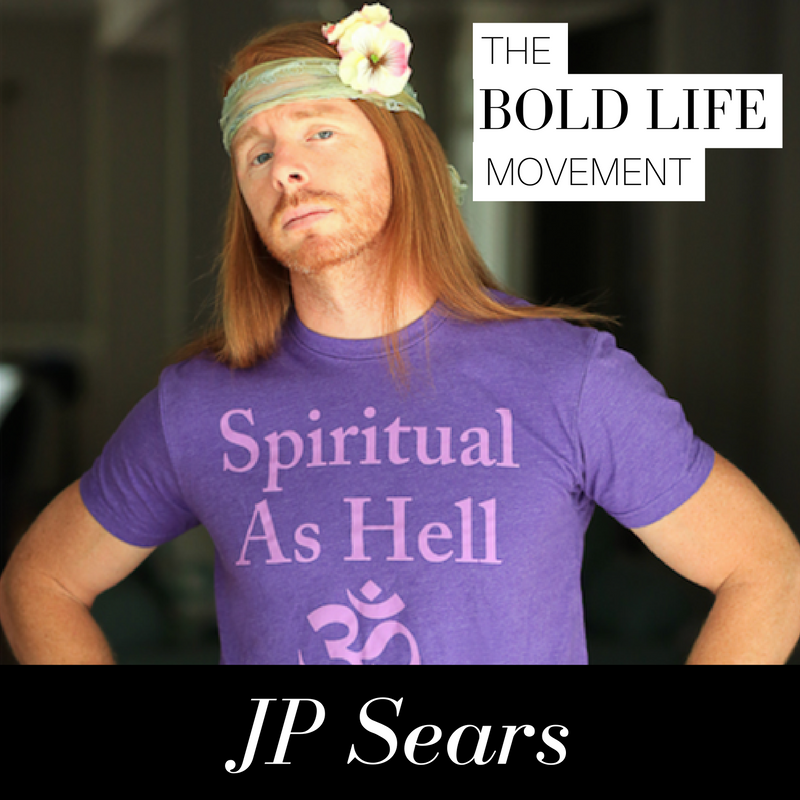 8933505231e47 JP Sears: A Behind the Scenes Look at Becoming Ultra Spiritual — The Bold  Life Movement