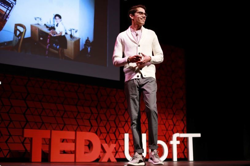 """You don't go to a TEDx talk to learn about things as much as to get inspired to go DO Things."