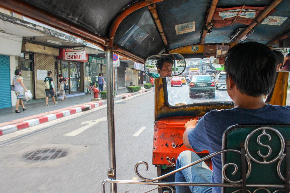 (The aforementioned tuk tuk)