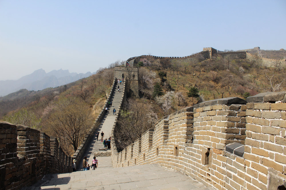 People seem to like pictures of the Great Wall, so here's that