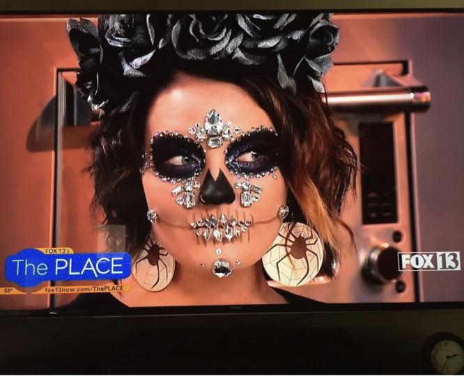 Halloween Segment on FOX 13