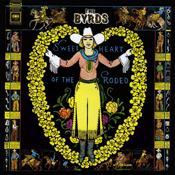 "In August of 1968, the album Sweetheart of the Rodeo by the Byrds was released. It was quite a surprise to anyone who was familiar with the Byrds' previous recordings that include songs like Turn, Turn, Turn, several pop covers of Dylan songs (such as Mr. Tambourine Man), and the psychedelic Eight Miles High. The Byrds abruptly went from jangly, Beatles-influenced, psychedelic folk-rock icons to an out-and-out Country band. Not everyone was impressed. Country music fans in particular thought it was a smirking mockery of Country music by a bunch of interloping hippies. The Byrds were met with jeers and booing at their Grand Ol' Opry debut, and were famously mocked in an interview with DJ Ralph Emory (McGuinn & Parsons penned their revenge song, Drug Store Truck Driving Man, about the experience). And their previous fans were just confused: was it a joke? The Byrds were an LA band that started in 1964. Their original personnel included: Jim McGuinn (who inexplicably changed his first name to Roger in 1967), Gene Clark, David Crosby, Chris Hillman, & Michael Clarke. They were riding high in 1965-66, up there with the Beatles and the Stones as symbols of the counterculture. But with the departure of David Crosby, Gene Clark, and Michael Clarke, the two remaining members were searching for a new sound and ended up recruited Gram Parsons, initially to play some Honky Tonk piano, but by the time the record was finished Parsons more or less took over the band, as the primary songwriter, lead singer and overlord. Parsons saw his membership in The Byrds as an opportunity to express his vision of ""Cosmic American Music"". Upon completion of the record, either producer Gary Usher or McGuinn had a change of heart and ended up removing several of Parsons' vocals, replacing them with McGuinn's, and thus minimizing Parsons' role in The Byrds. Power struggles, legal & political complications, and drugs followed, and before you could say Bob's your uncle, Gram Parsons was out of The Byrds. Eight weeks later, Sweetheart of the Rodeo was released. Although at the time the record seemed a disaster on every level, it's now seen as a pivotal and influential landmark, launching a whole bunch of musical styles, Alt. Country among them. I first heard Sweetheart of the Rodeo as a kid, pulling it out of a pile of my older brother's LPs. I remember being particularly struck by the song Hickory Wind, a song that still gets to me. Listening to the album again recently, I can hear that McGuinn in particular has a snarkiness to his singing of the Country cover songs, especially The Christian Life, which he sings with an obvious tongue-in-cheek tone. But I found Gram Parsons' performance on the record sincere. He seemed to have a real love and respect for the music that McGuinn did not (after hearing Parsons' original vocals of Christian Life on a re-release compilation, my suspicions were confirmed). After Sweetheart The Byrds soldiered on, with McGuinn reforming yet again, but sticking, more or less, with the Country Rock sound. Parsons and Hillman formed The Flying Burrito Brothers, and following that Parsons went solo (his solo records were famous for the discovery of his young singing partner Emmylou Harris) and then died of a drug overdoes at the age of 24 in 1973.   Turn, Turn, Turn https://www.youtube.com/watch?v=W4ga_M5Zdn4 Eight Miles High https://www.youtube.com/watch?v=J74ttSR8lEg You're Still On My Mind https://www.youtube.com/watch?v=QZ0AXWaNbEk Hickory Wind https://www.youtube.com/watch?v=m4dIQITw5bw The Christian Life (Gram Parsons lead vocal) https://www.youtube.com/watch?v=VDb7gsZ3HJs The Christian Life (Roger McGuinn lead vocal) https://youtu.be/so72VdB8KVA Drug Store Truck Drivin' Man (Gram Parsons with Emmylou Harris) https://www.youtube.com/watch?v=d2PQf60Q2go"