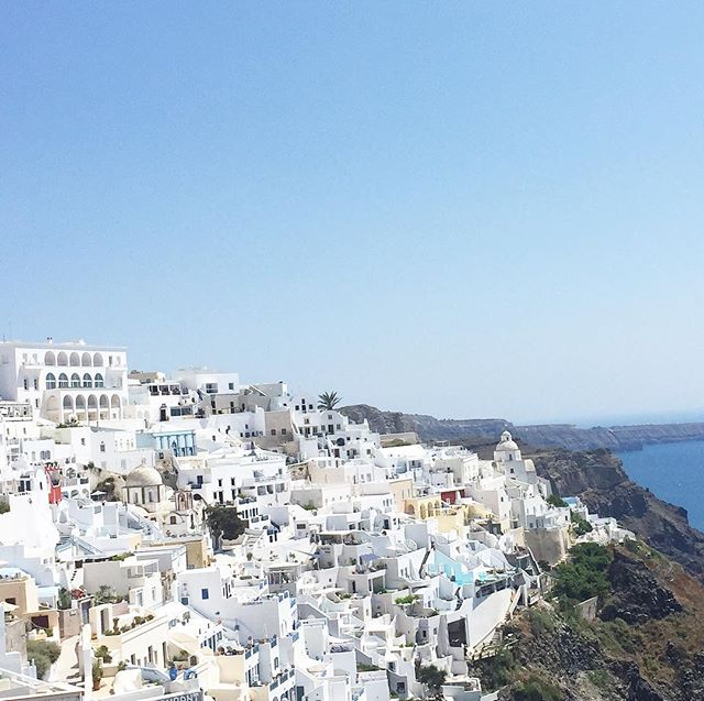 yes we flew all the way to Santorini for this view, and yes it was more beautiful than we could have imagined