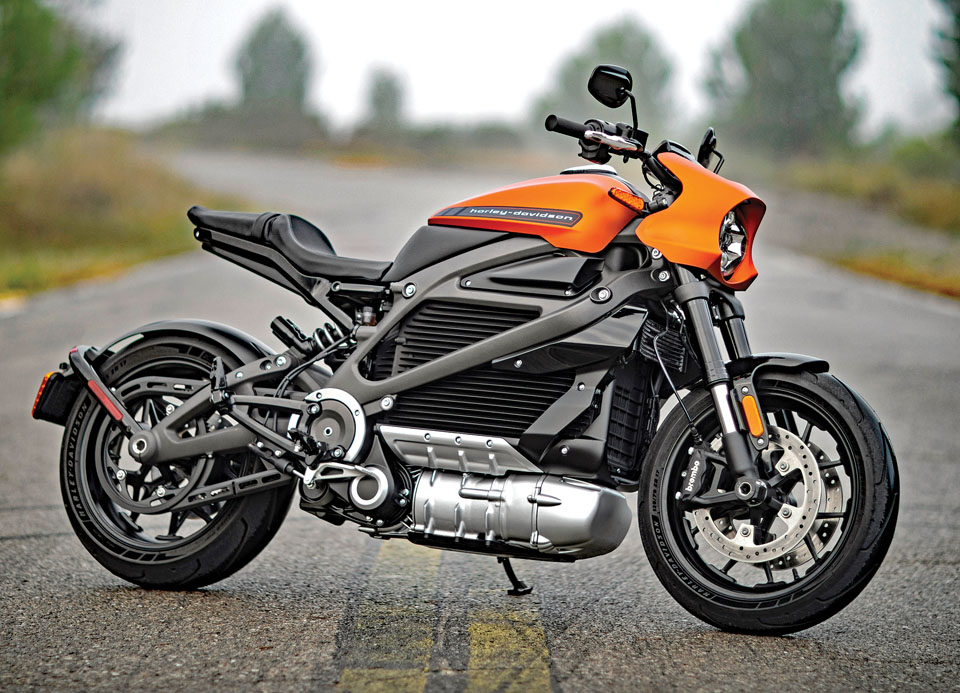 The 2020 Harley-Davidson LiveWire
