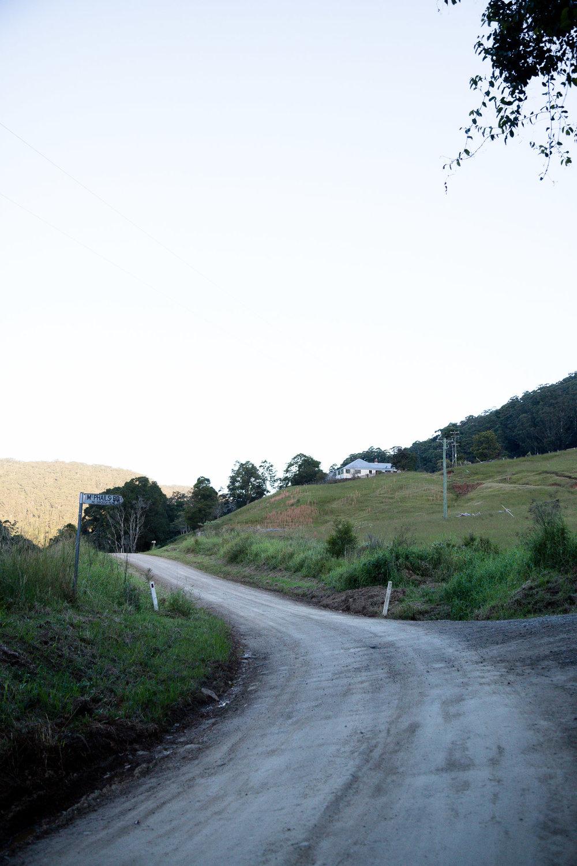 Take me down long country lanes -