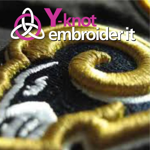 Y-Knot Embroider It, digitizing and embroidery specialists. We service Somerset West, Helderberg, Stellenbosch and Cape Town. We ship all over South Africa. Quick and Professional service.