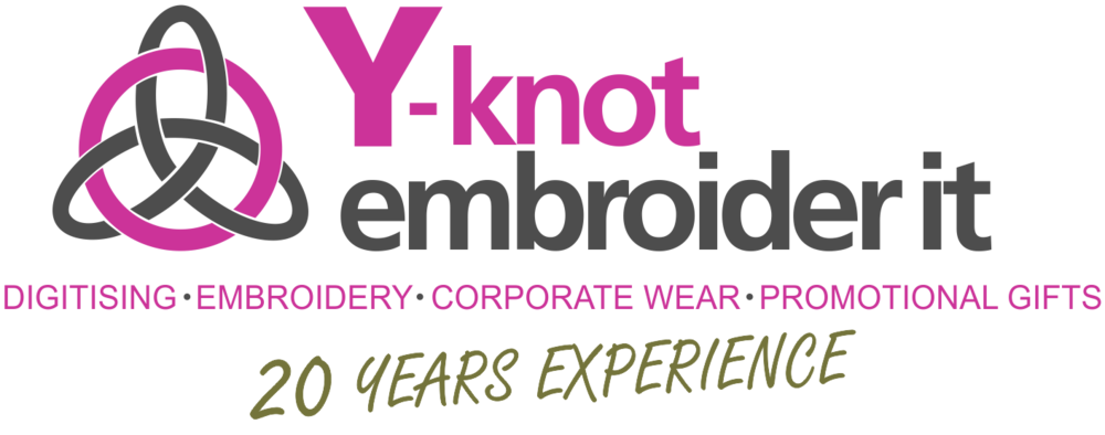 Y-Knot Embroider It quality digitising, embroidery, corporate, work and promotional wear in the Helderberg, Somerset West, Strand, Stellenbosch and Cape Town.