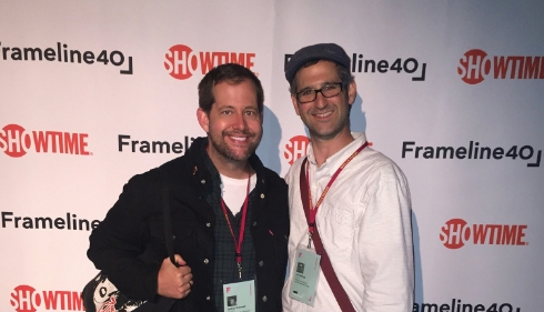 Joshua Grannell and Jeff Schlags at the Frameline40 Opening Night Gala, Thursday June 16, 2016.
