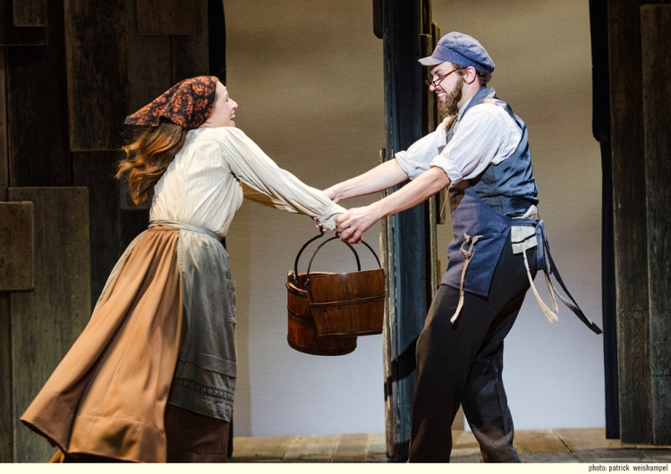 Tzeitl,  Fiddler on the Roof  - Portland Center Stage