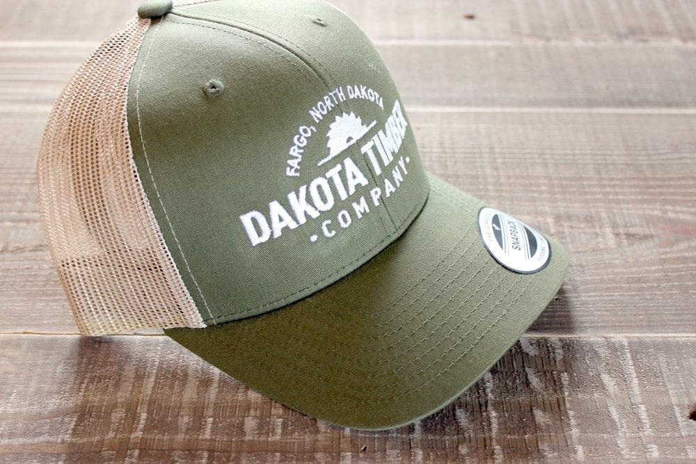 Green Dakota Timber Co. Snapback Hat — Dakota Timber Co. 3b3c390e93c