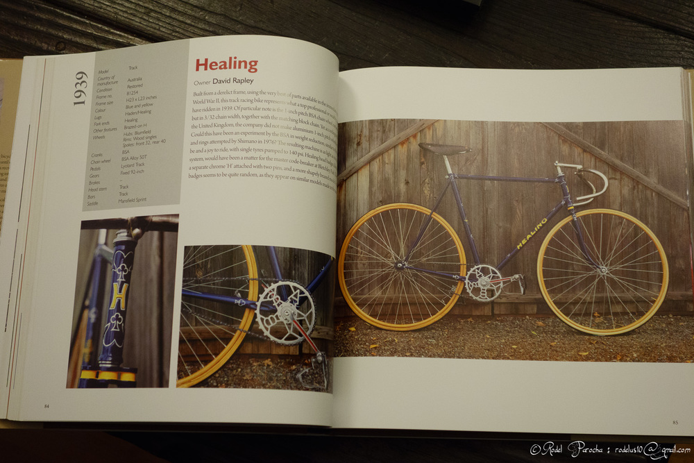The pages are well presented and very neat.  Loads of gems here regarding Australian racing bicycle culture.