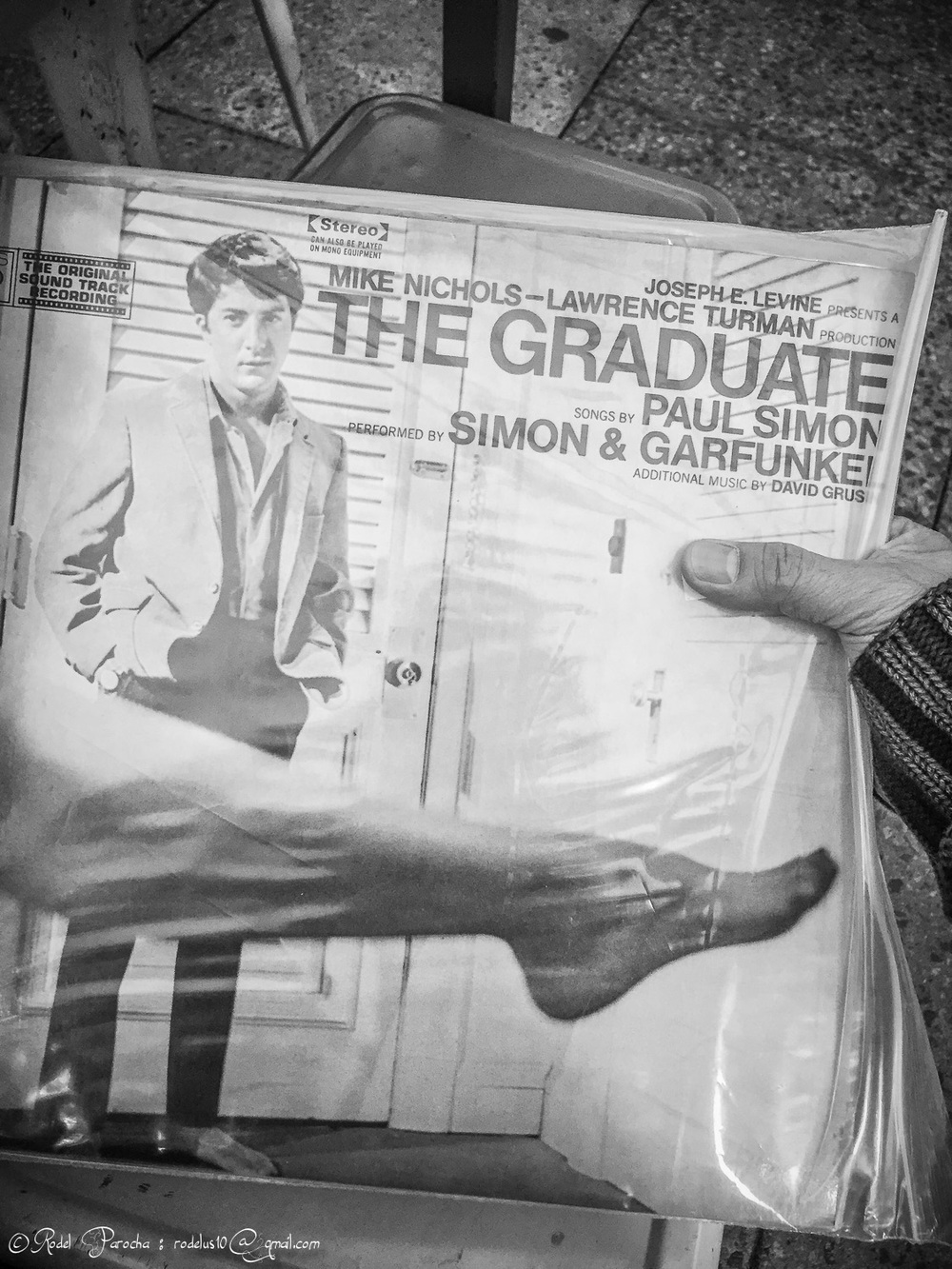 The Graduate soundtrack bought at Rosemount Vinyl Fare.