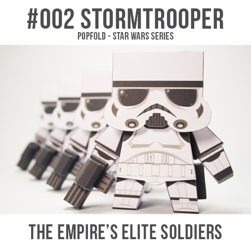Papercarft de los Guardias de Asalto / Stormtroopers. Manualidades a Raudales.